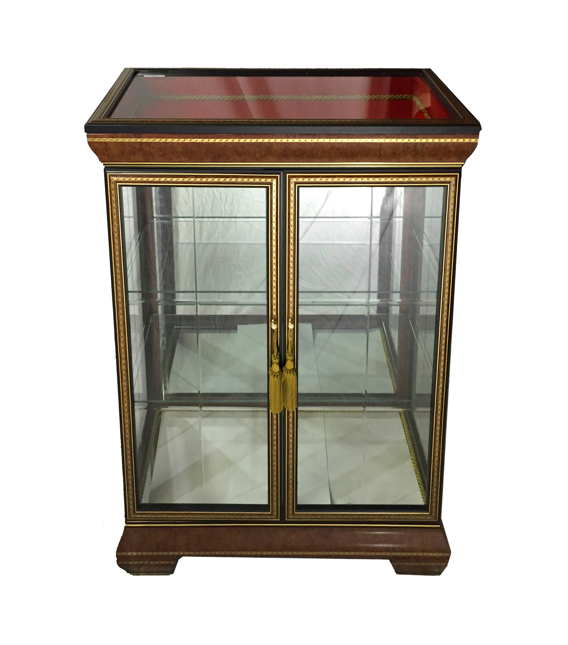 27X14X35 BROWN CABINET