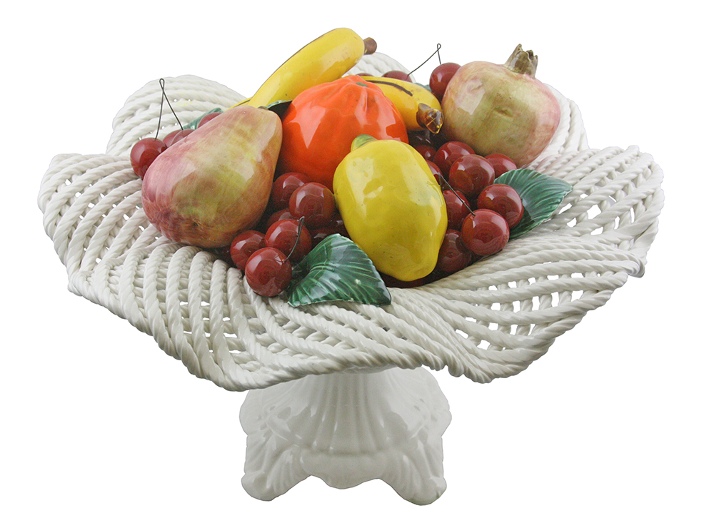 "16"" FRUIT BASKET ON BASE"