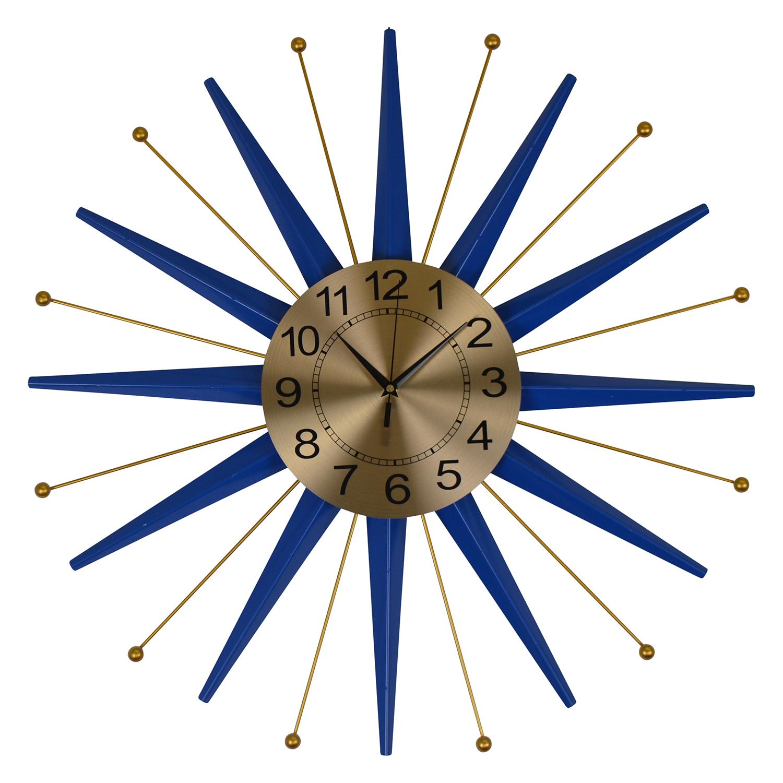 "27"" STAR-SHAPED WALL CLOCK"