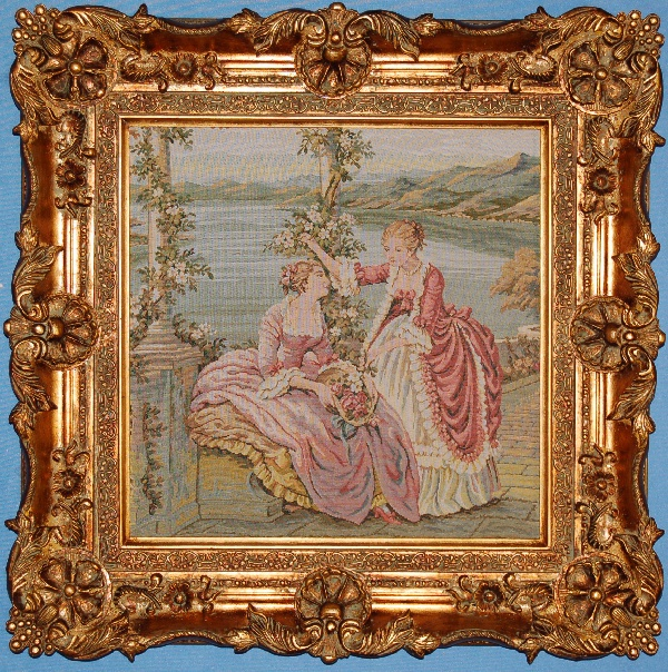 35X36 BAROQUE GOLD FRAME