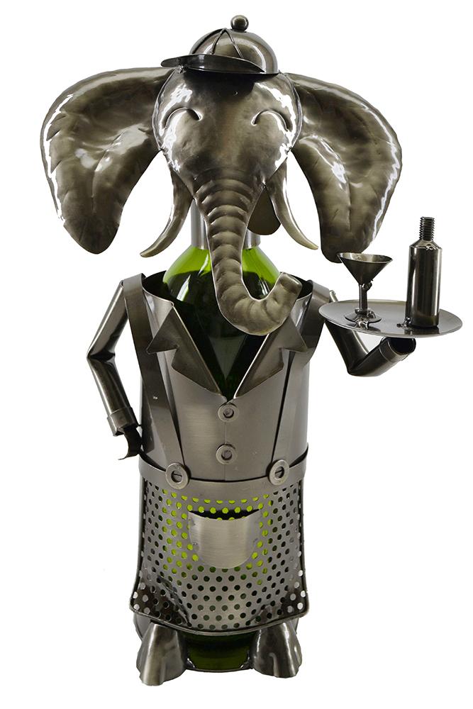 BOTTLE HOLDER, ELEPHANT