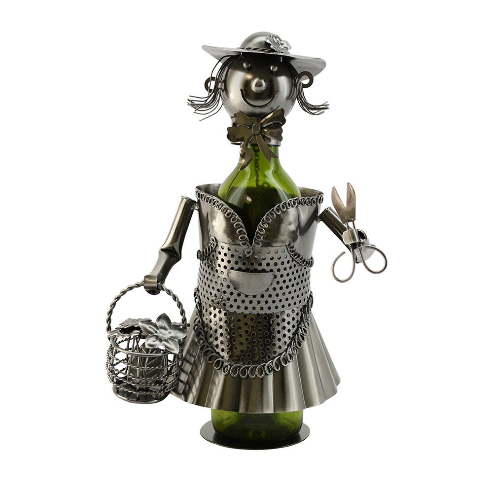 BOTTLE HOLDER, LADY GARDENER