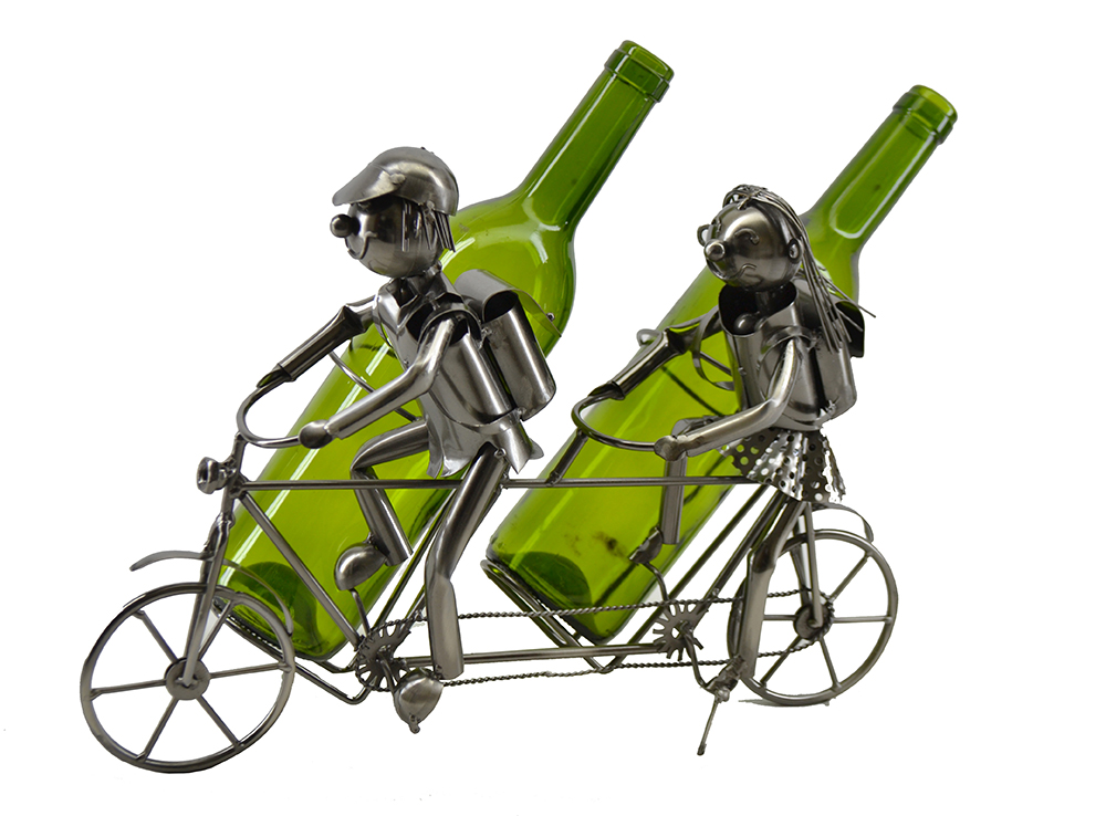 TANDEM BICYCLE, BOTTLE HOLDER,  11X14X6