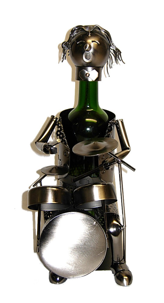 BOTTLE HOLDER, DRUMMER