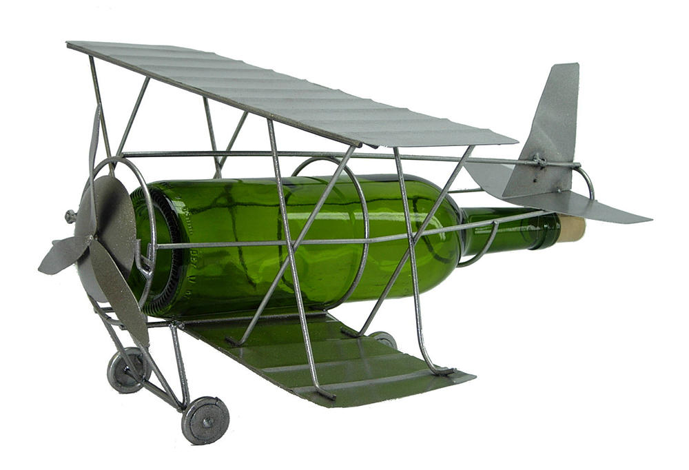 BOTTLE HOLDER, BI-PLANE