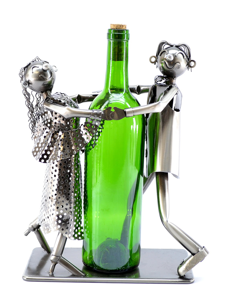 BOTTLE HOLDER, TANGO DANCERS