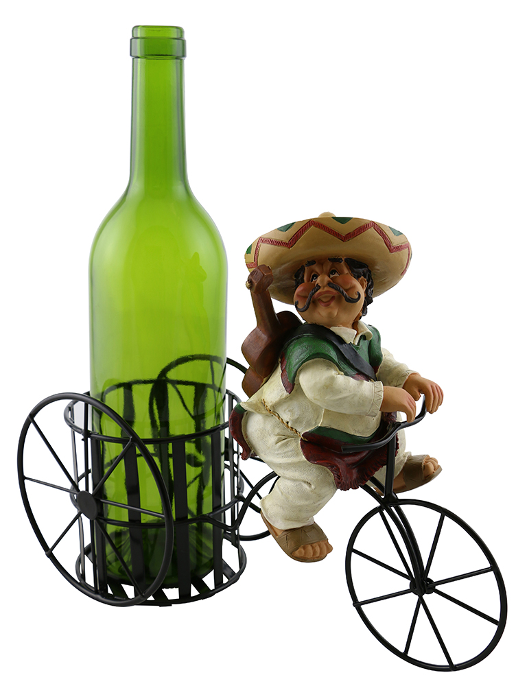 11X9 BOTTLE HOLDER, MEXICAN GUITAR PLAYER