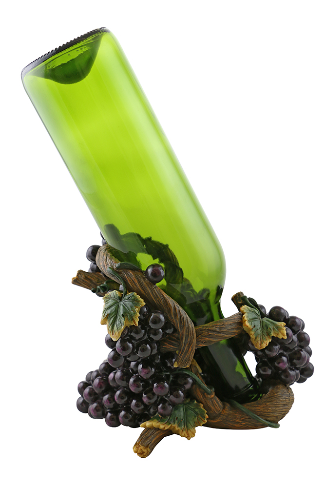 7X6 BOTTLE HOLDER, GRAPES & VINE