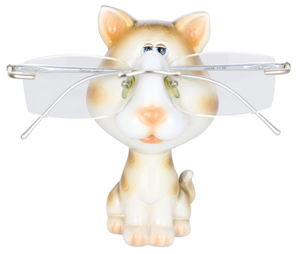"EYEGLASS HOLDER, 4.5"" CAT"