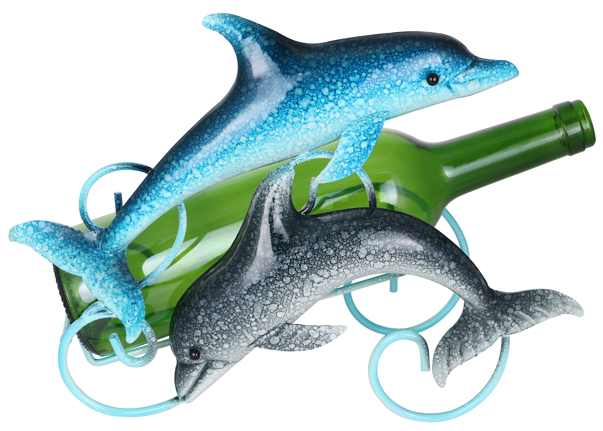 12X9 DOLPHINS BOTTLE HOLDER