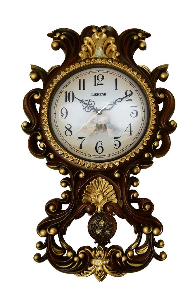 26X16 WALL CLOCK W/ PENDULUM