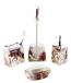 5-PC BATHROOM SET, SEA SHELLS