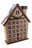 15X12 LOG CABIN ADVENT CALENDAR