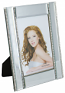 8.5X6.5 FRAME FOR 4X6 PHOTO, 4 CRYSTAL LINES