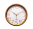Rose Gold Round Clock Silent Battery Operated Classic Minimal Wall Decor For Home Or Office