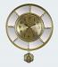 Luxurious Gold & Mirror Wall Clock