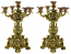 "PAIR OF 15"" CANDLE HOLDERS"