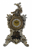 "19"" TABLE CLOCK W/ PENDULUM"