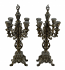 "PAIR OF 21"" CANDLE HOLDERS"