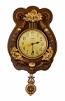 23X12 WALL CLOCK W/ PENDULUM