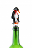 "5.5"" BOTTLE STOPPER, PENGUINS"