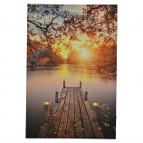 16X24 LIGHT UP SUNRISE IN AUTUMN