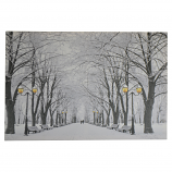 24X16 LIGHT UP WINTER IN THE PARK