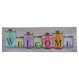 "35X12 LIGHT UP ""WELCOME"" SIGN"