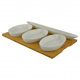 16X10, 3 & 1 HORS D'OEUVRES BOWLS
