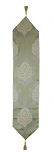 60X13 TABLE RUNNER, GREEN & GOLD