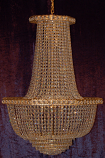 26X37 12-LIGHT CHANDELIER
