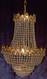 15X24 3-LIGHT CHANDELIER