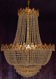 24X31 6-LIGHT CHANDELIER