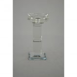"7.5"" CRYSTAL CANDLE HOLDER"