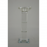 "10.5"" CRYSTAL CANDLE HOLDER"