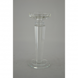 "9.5"" CRYSTAL CANDLE HOLDER"