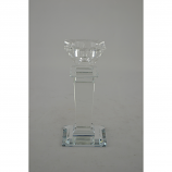 "7"" CRYSTAL CANDLE HOLDER"