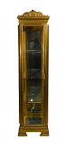 16X16X69 ANTIQUE GOLD CABINET