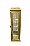 12X12X49 GOLD CABINET