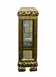 14X14X39 GOLD/BLACK CABINET W/ LIGHT