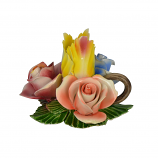 5X4 FOUR FLOWER CANDLE HOLDER