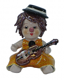 "4"" CLOWN W/ VIOLIN"