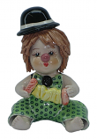 "4"" CLOWN W/ CONCERTINA"