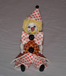 "4.5"" CLOWN W/ STAR HAT"