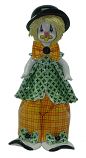 "9.5"" CLOWN W/ GREEN SHIRT"