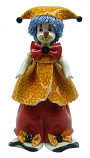 "9.5"" CLOWN, YELLOW HAT"
