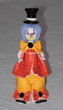 "6.5"" CLOWN W/YELLOW BOW"