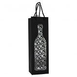 "14"" WINE BAG, SILVER WINE BOTTLE"