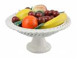 "10"" FRUIT BASKET ON BASE"