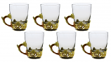 "6-PC SET OF 4"" TEA GLASSES"